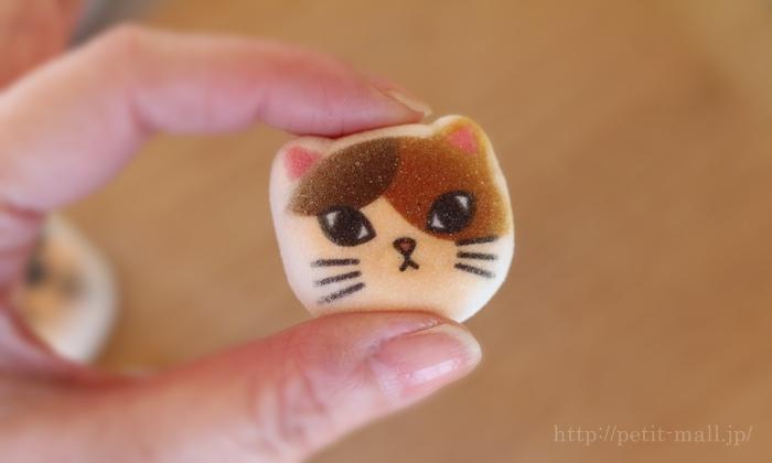 和風ニャシュマロ(マシュマロ)猫ほうずい サイズ感