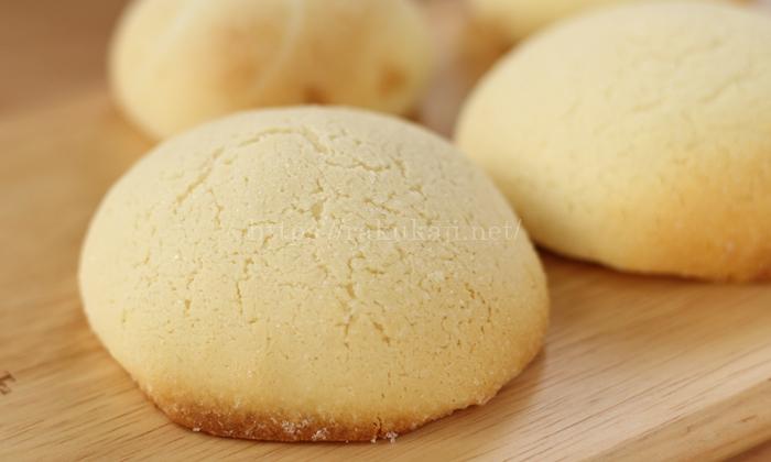 oisixおいしっくすの冷凍パン生地で作ったメロンパン