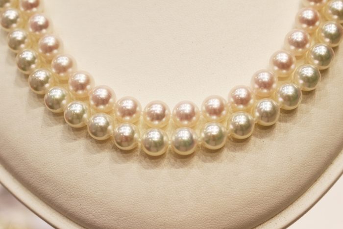 真珠のネックレス テリの比較