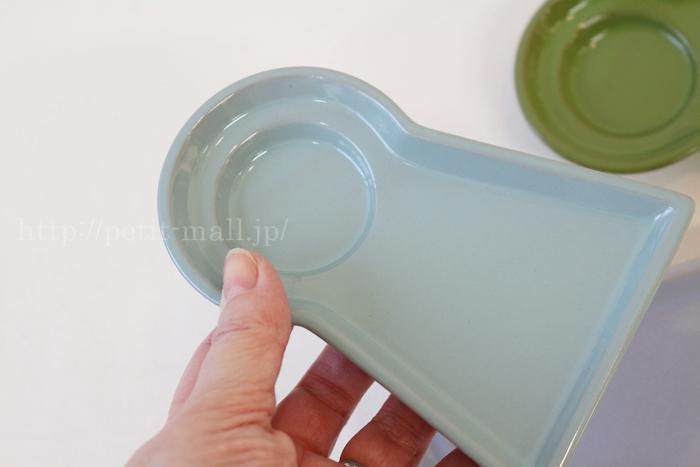 フェリシモ 古墳の形のプレート(取り皿)の大きさ
