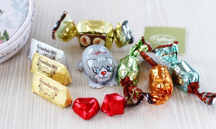 カファレル バレンタイン限定ポーチ入りチョコレートギフト