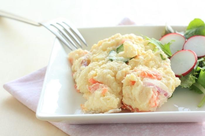 おいしっくす冷凍食品「ポテトサラダベース」ポテトサラダ