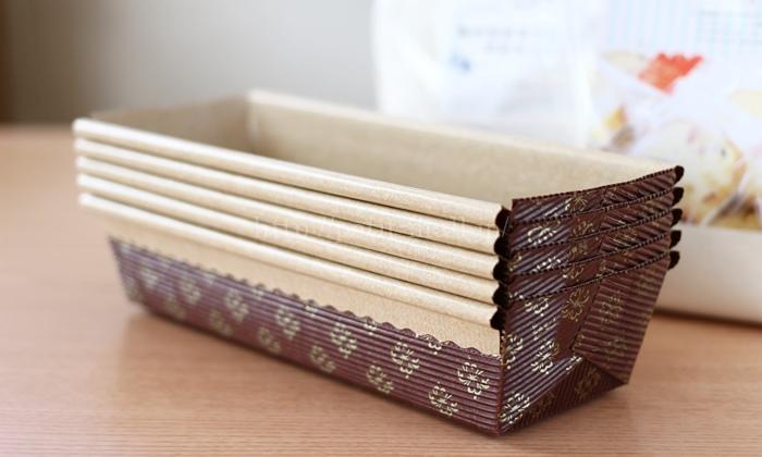 紙製パウンドケーキ型