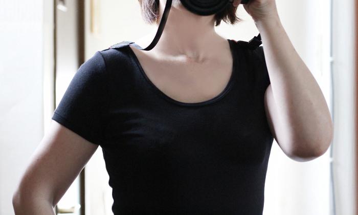 サラリスト フレンチ袖タイプの襟ぐり