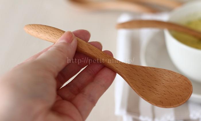 ベルメゾンデイズ 木製スプーン15cm