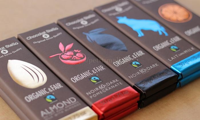 ショコラ・ステラ オーガニックチョコレート おしゃれなパッケージ