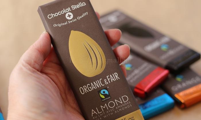 ショコラ・ステラ オーガニックチョコレートの大きさ