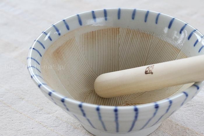 栗原はるみ/十草すり鉢 小 青