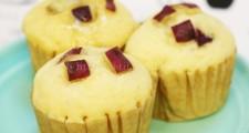 フェリシモ おやつミックスとレシピの会 なかしましほさん監修さつまいもの蒸しパン