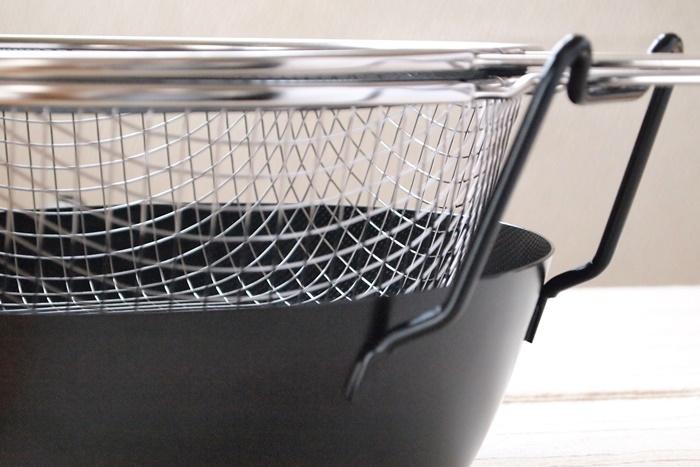 有元葉子 鉄の揚げ鍋(ラバーゼ)