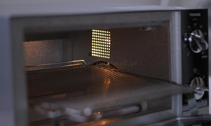 東芝オーブントースター HTR-L6 庫内灯