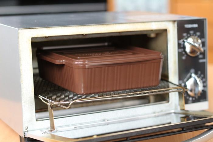 トースターパン オーブントースターで加熱するだけ