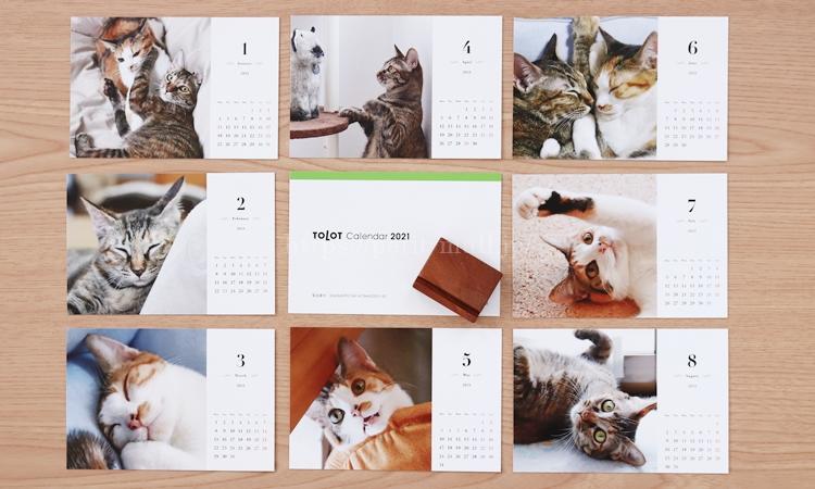 TOLOT(トロット)卓上カレンダーの特徴