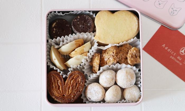 アディクトオシュクル レ シャ サンヴァランタン 猫缶クッキー バレンタイン