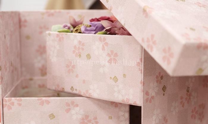 イイハナ 母の日 慶び紡ぎ合わせ箱「菓匠 花菓蔵 上生菓子詰め合わせ」和の小箱入り